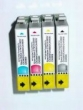 5 X Kompatible Patrone Epson E 0714 Yellow